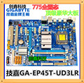 Frete grátis gigabyte ga-ep45t-ud3lr solid-state independente grande placa 775 motherboard gigabyte/suporte ddr3