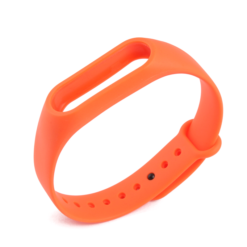 Hot Sale Xiaomi Mi Band 2 Wrist Strap Colorful Silicone Belt Bracelet Alternative Accessories for Miband 2 Xiaomi Mi band 2 in Watchbands from Watches