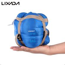 Lixada 680g Camping Sleeping Bag 190*75cm Type Polyester Bags With Compression Equipment