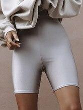 Simenual High waist fitness women cycling shorts sporty active wear push up bodybuilding biker shorts fashion slim short pants