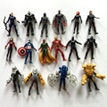 16Pcs/lot Captain America Civil War Avengers Figures Iron Man/Ant-Man/Hawkeye Figures Toy PVC Dolls Kids Gifts 7cm