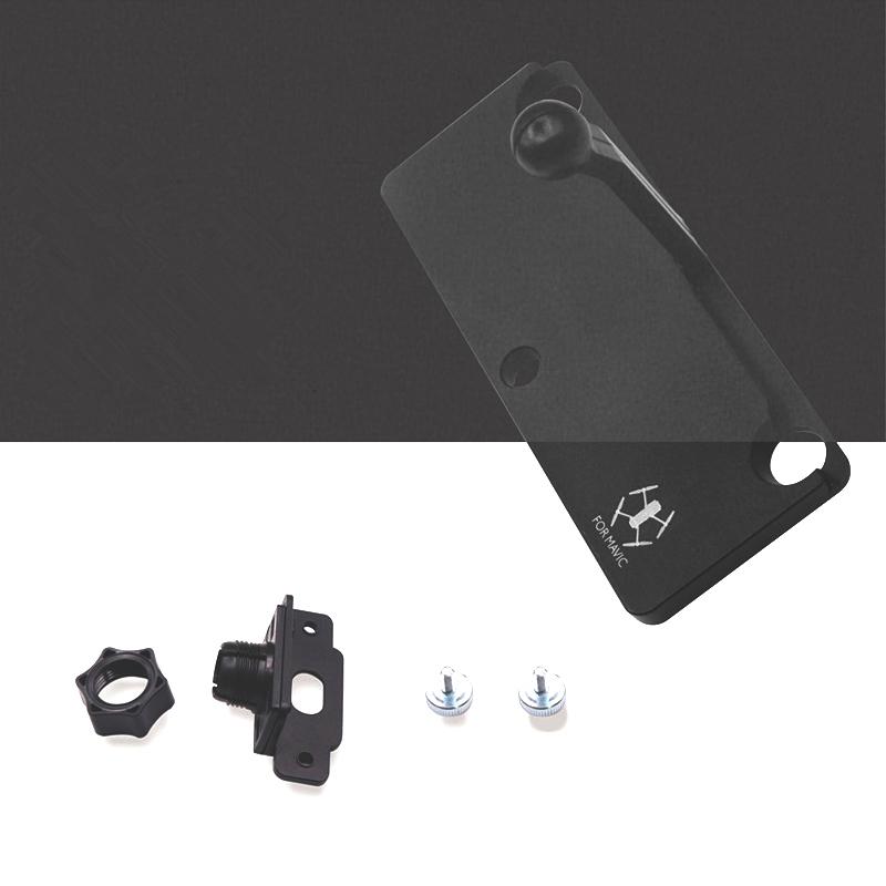 Sunnylife Mavic Pro 5.5 7.85 inch CrystalSky Monitor Holder Extension Aluminum Bracket Tablet Mount for DJI Spark Remote Control (2)