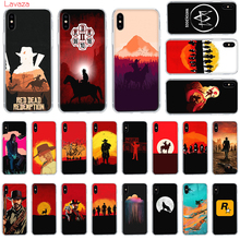 Lavaza Red Dead Hard Phone Case for Apple iPhone 6 6s 7 8 Plus X 5 5S SE for iPhone XS Max XR Cover webbedepp hot red dead redemption 2 glass phone case for apple iphone xr x xs max 6 6s 7 8 plus 5 5s se