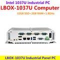 1037U (опционально I3/I5/I7) Intel 1.8 ГГц 32 ГБ SSD 2 ГБ RAM Промышленных Панели компьютер низкого энергопотребления и высокой производительности (LBOX-1037U)