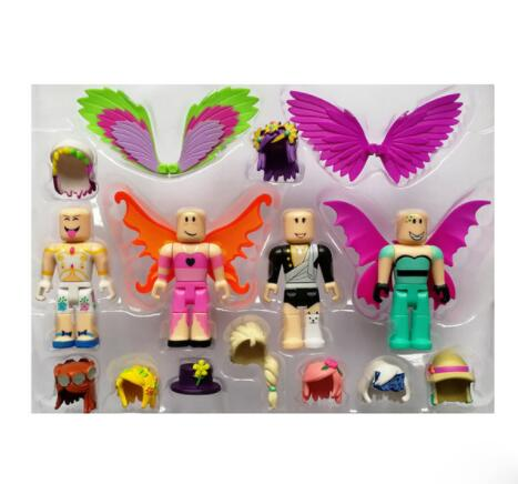 Us 62 19 Offroblox Game Figure Set Chraracters Toys Mystery Box Prison Life Police Mermaid Roblox Champions Figure Buidling Block Oyuncak In - roblox champions