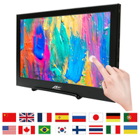 15.6 1920x1080 IPS Thin Portable Gaming Monitor 10 Multi Touch Screen HDMI LCD Display for Raspberry PS4 playstation4
