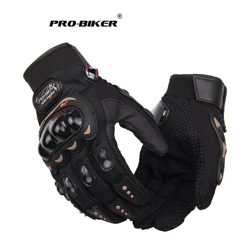 PRO-BIKER Motorcycle Gloves Men Motocross Gloves Full Finger Riding Motorbike Moto Gloves Motocross Guantes Gloves M-XXL