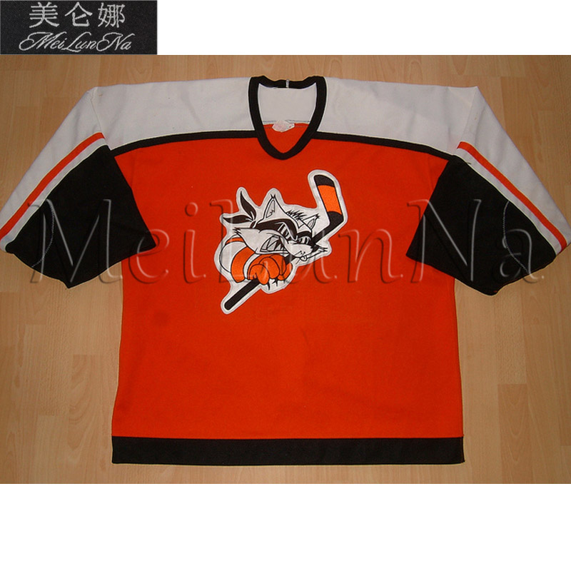 MeiLunNa Custom LNAH Granby Blitz Hockey Jerseys Throwback Orange Sewn On Any Name NO. Size расчески и щетки wet brush watercolor collection orange цвет orange variant hex name f8c54f