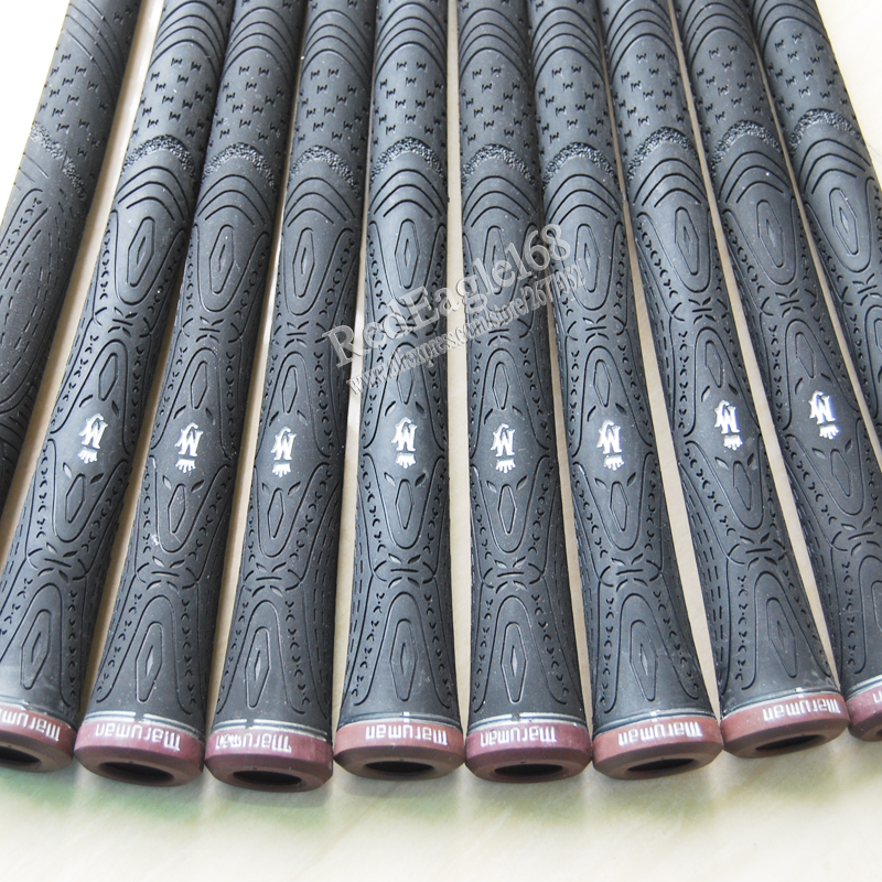 New MAJESTY Golf grips high quality rubber Golf irons grips black colors in choice 10 pcs/lot irons clubs grips Free shipping