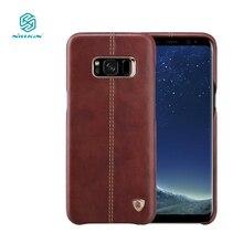 Nillkin Englon телефон мешки для Samsung Galaxy S8 чехол люкс PU кожа Винтаж задняя крышка S8 для samsung случае 5.8 дюймов S8 Крышка