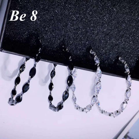 Купить женские круглые серьги кольца be8 высококачественные ювелирные