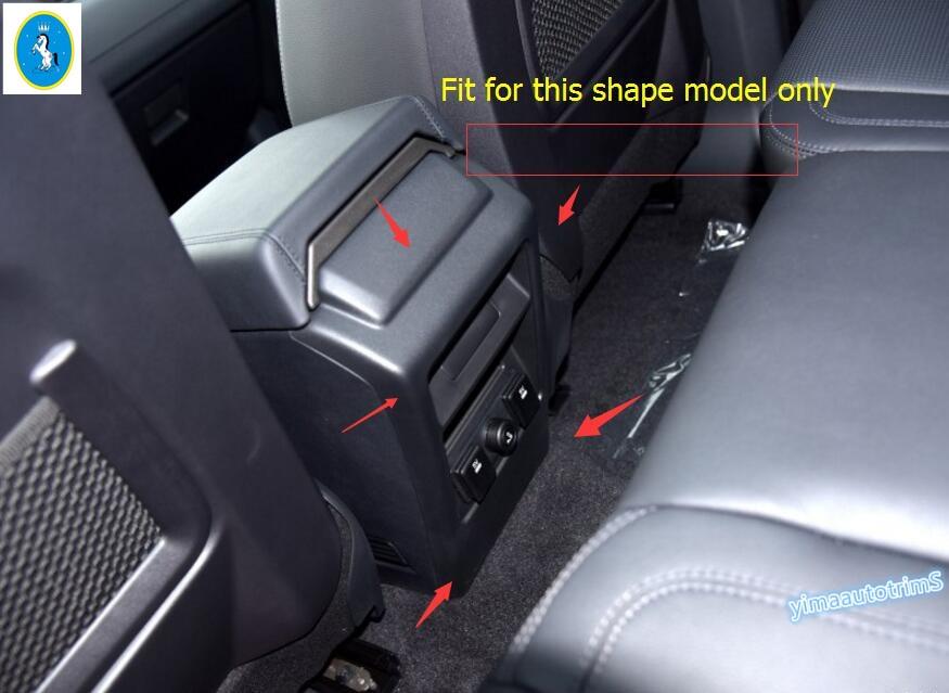 ФОТО More Fashion ! Interior For Land Rover Discovery Sport 2015 2016 2017 ABS Chrome Anti Kick Panel Trim 1 Pcs