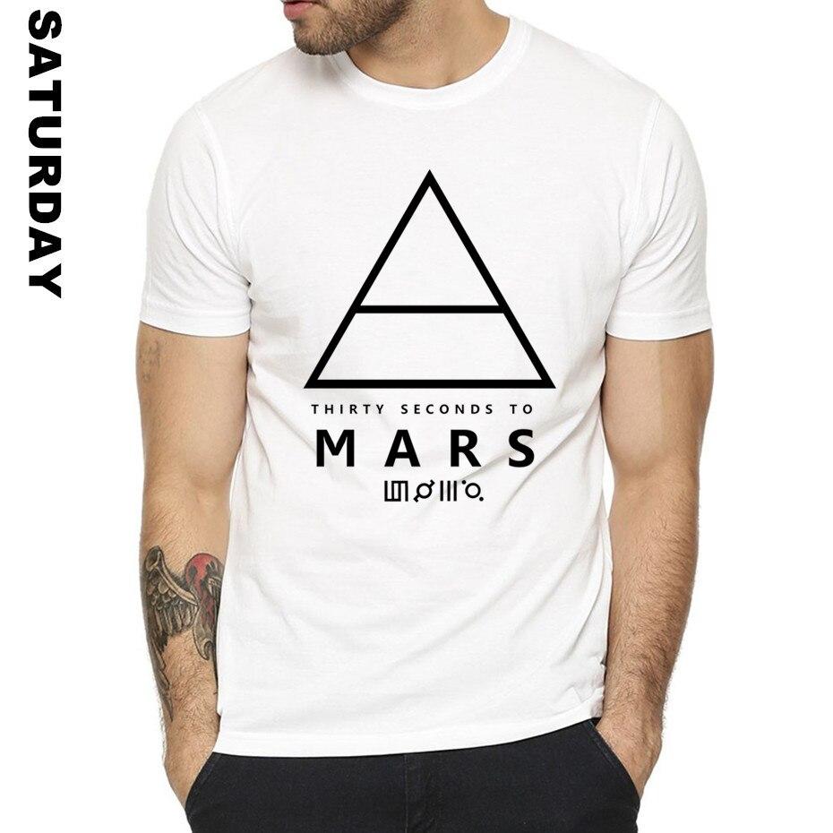 30 SECONDS TO MARS Design Creative T Shirt for Men and Women,Short sleeve O-Neck Summer T-Shirt Homme Women Tee