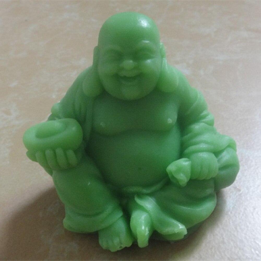 3D Buddha Candle Mold Soap Mold Maitreya Buddha Silicone Molds For Candle Making
