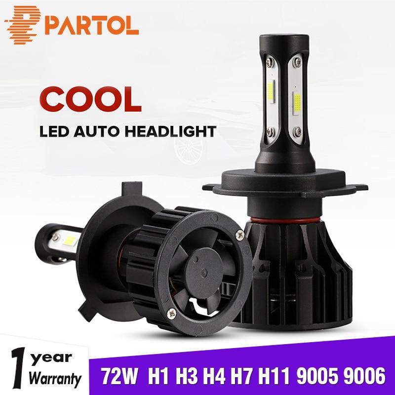 H7 LOW BEAM HIGH W5W LED PARKING WEATHER FIGHTER CAR BULBS HEADLIGHTS SET 12V B