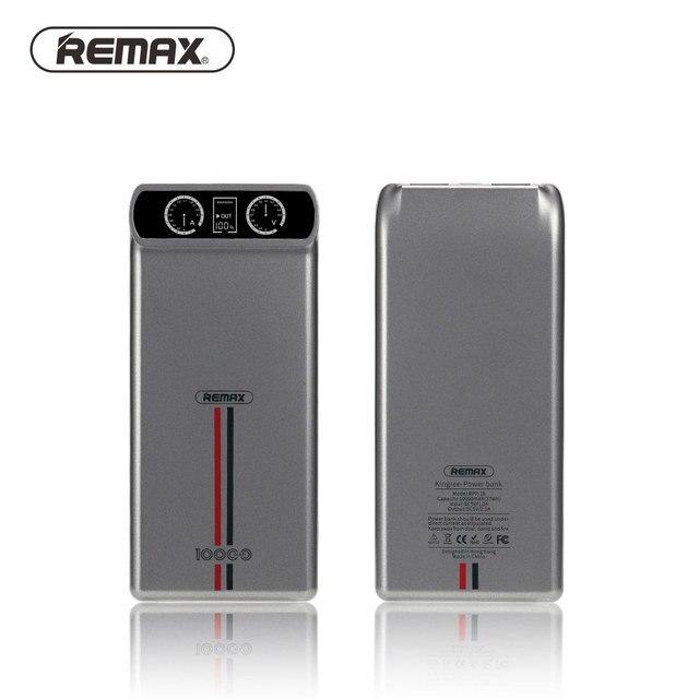 Оригинал 10000 мАч REMAX для iPhone 6 s 7 плюс ЖК-Портативный Power Bank Зарядное Устройство Внешняя Батарея Быстрой Зарядки Для Телефонов Tablet ПК