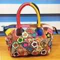 Brand Design Messenger Bag Applique Flowers Handbag Women Fashion Tote Bags Luxury Handbags Women High Capacity Shoulder Bags