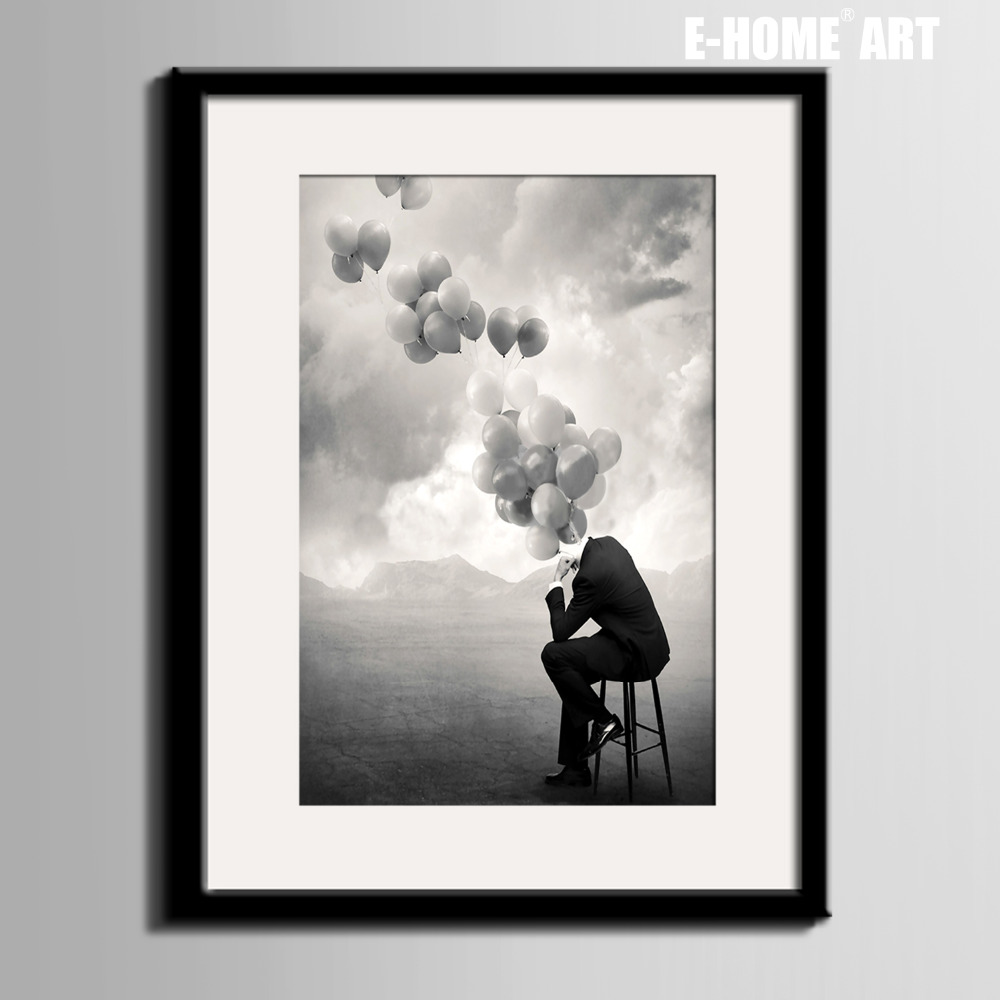 HD print 1 piece canvas art poster smoke and wonder old ... |Man Canvas Print