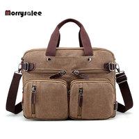 Multi functional Men's Canvas Bag Travel Bag Shoulder Messenger bags Large Capacity Crossbody Male Casual handbags