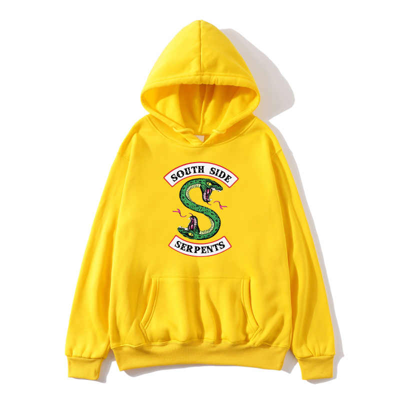 Riverdale Tracksuit Loose Hoodie Sweatshirts Women/Men Autumn South Side Tracksuit Ladies Hoodies Women Oversize Clothes