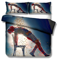 Deadpool Bed Set Covers and Pillowcases (8 Different Designs) 6