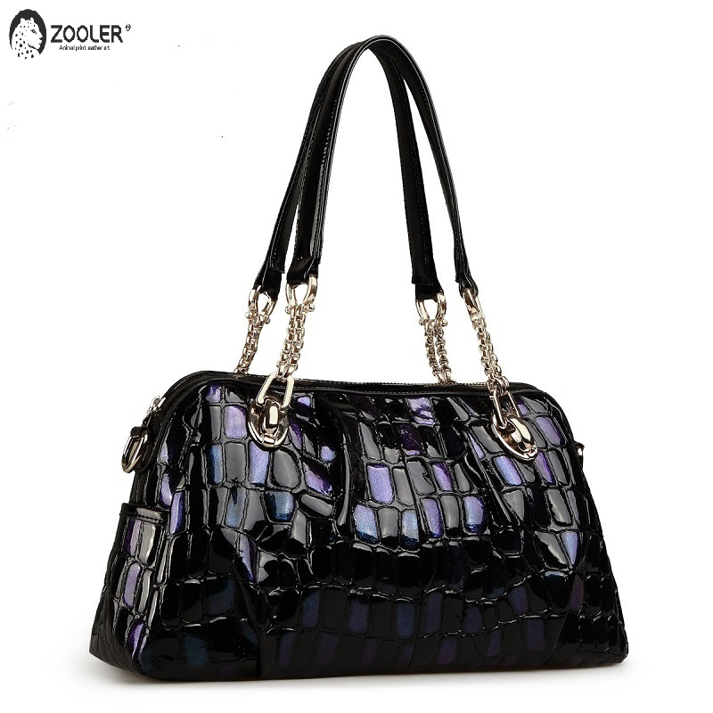 ZOOLER marque sacs en cuir femmes vache cuir sac à main femme épaule Messenger sacs 2019 nouveau sac à main grand fourre-tout qualité # wp132 1