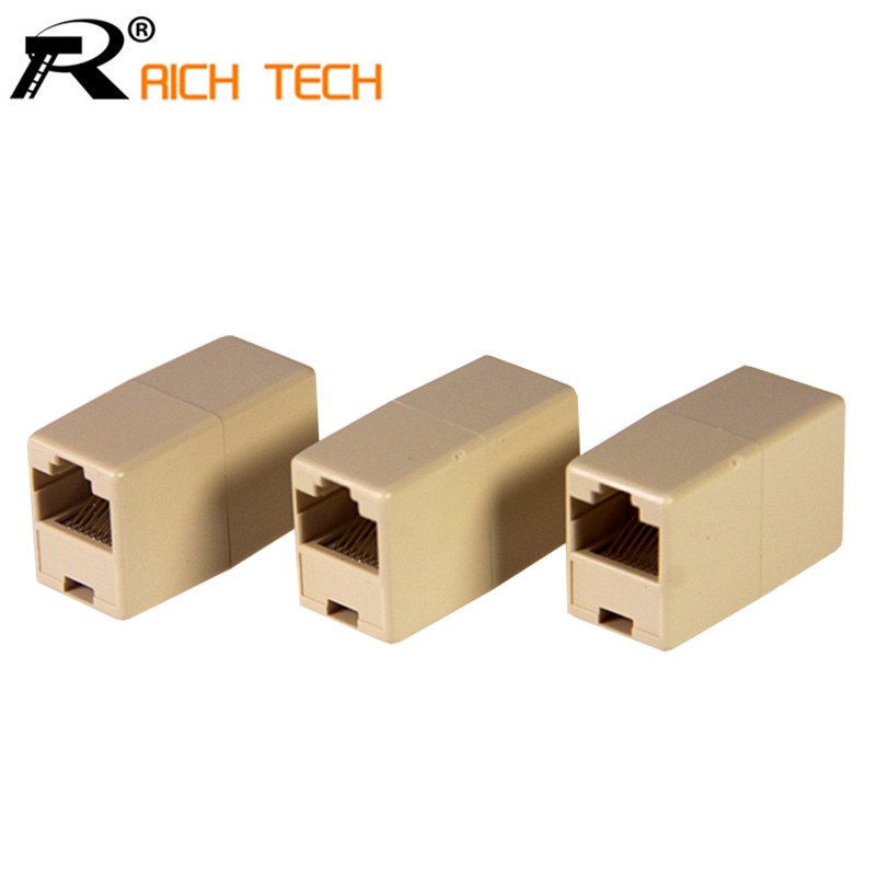 Rj45 network through interface network extended connector cat5 rj45 rj45 network through interface network extended connector cat5 rj45 network cable extender plug coupler joiner splitter 3pcs in connectors from lights asfbconference2016 Choice Image
