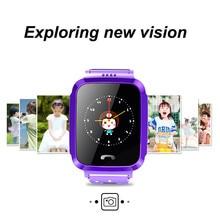 Купить с кэшбэком Waterproof Smart Watch GPS Location Touch Screen SOS Call Wristwatch Finder Tracker Smartwatch for Kid Child