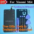 Высокое Качество Сенсорный Экран Стекла и ЖК-Дисплей Планшета Стекло Ассамблея TP Для XIAOMI MI4 m4 Смартфон Черный Белый Бесплатные Подарки