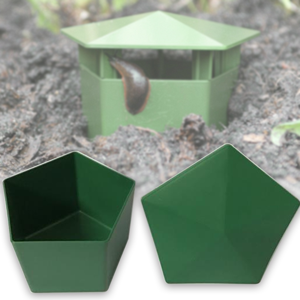 Plastic Snail Trap Garden Tool Eco-friendly Catcher Planarian House Cage Leech Box Farm Protector Clear Slug Reptile