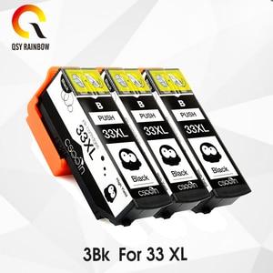 Akcesoria CMYK 3BK T3351 33XL czarny kompatybilne tusze do drukarek dla XP-530 XP-630 XP-830 XP-635 XP-540 XP-640 XP-645 XP-900 drukarki