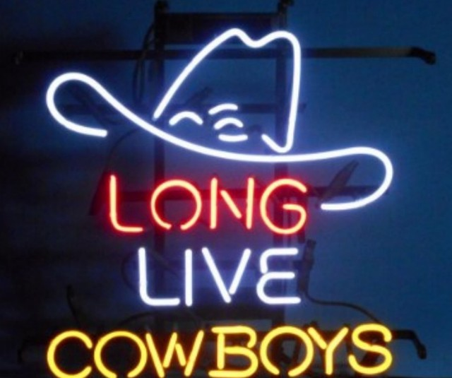 Custom LONG LIVE COWBOYS Neon Light Sign Beer Bar