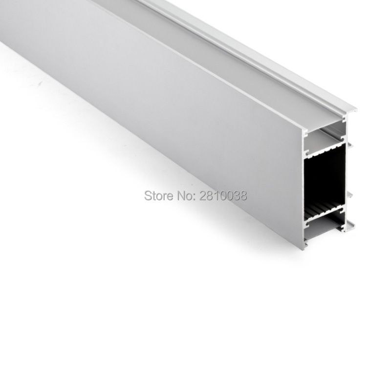 50 X 2m Sets/lot Wall Washer Led Aluminium Profile For Led Strip 42 Mm Wide U Type Aluminum Led Channel For Wall Lighting Led Bar Lights