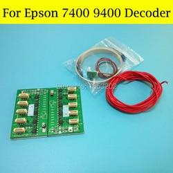 Najlepiej sprzedający się!! Dekoder do Epson Stylus PRO 9400 7400 drukarki 7400 chip do dekodera do T5678 T5674 pojemnik z tuszem|chip decoder|decoder epsonprinter pro -