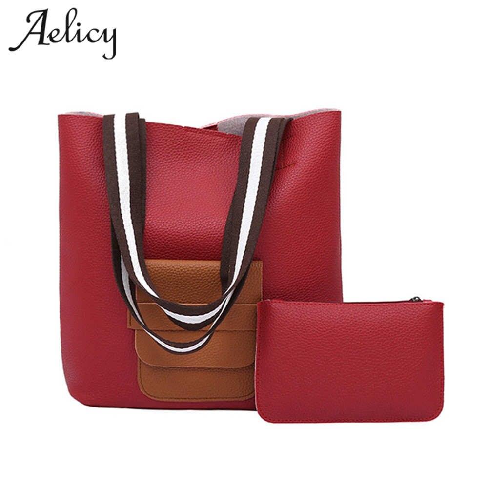 Aelicy Luxury Brand Designer Bucket bag Women Leather Shoulder Handbag high quality Large Capacity Crossbody bag For Shopping