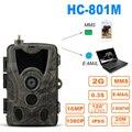 SUNTEKCAM HC-801M 2G 16MP 1080 P охотничья камера Trail камера SMS/MMS/SMTP фото ловушки 0,3 s время запуска ловушка дикая природа