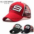 2016-2017 Racing Cap F1 MOTO GP Jorge Lorenzo new 99 Cap Baseball Cap Motorcycle gorra Sport Hat Racing Hats Embroidery Log