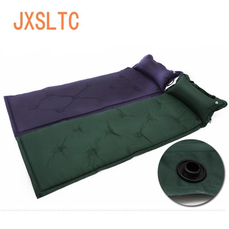 Meilleure vente PVC Polyester tissu 183*57*3 cm unique automatique coussin d'air accessoires de voyage tapis de plage spéciaux/vente en gros