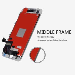 Image 3 - 20 adet Sınıf AAA kalitesi Için iPhone 8 LCD yedek parça ekran Lens Pantalla Dokunmatik ekran Digitizer ile ücretsiz kargo