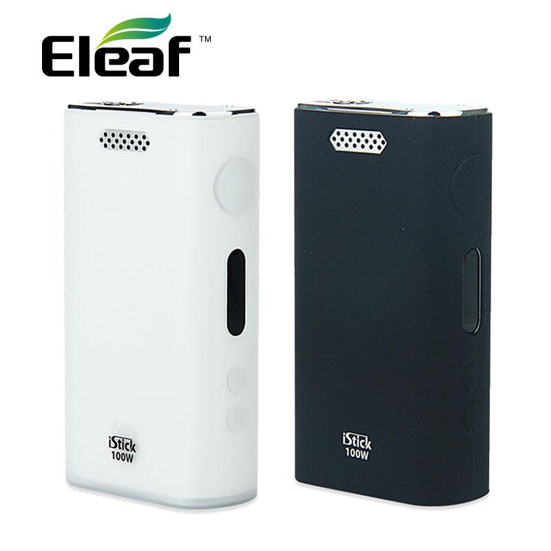 100% Original Eleaf Silicone Cover iSmoka Eleaf iStick 100W VV/VW Battery MOD Rubber Skin Case E Cigarettes iStick 100W Cover original oneplus 2 silicone case pc cover skin case battery cover
