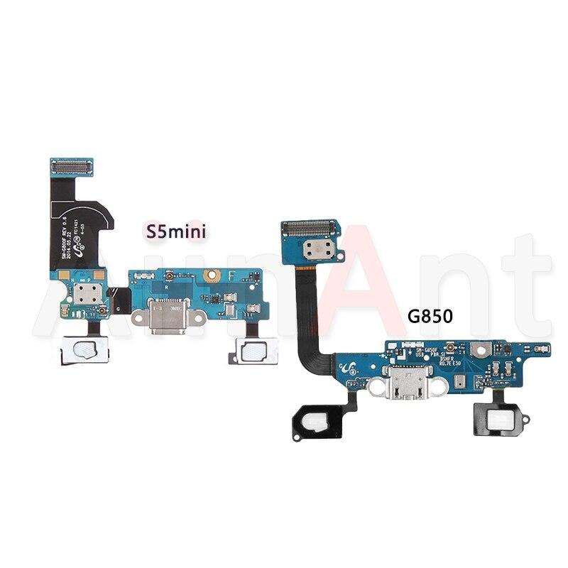 D'origine USB Chargeur Port Dock De Charge Câble Flex Pour Samsung Galaxy S5 mini G800 G800F G800H Alpha G850 G850F Mic flex