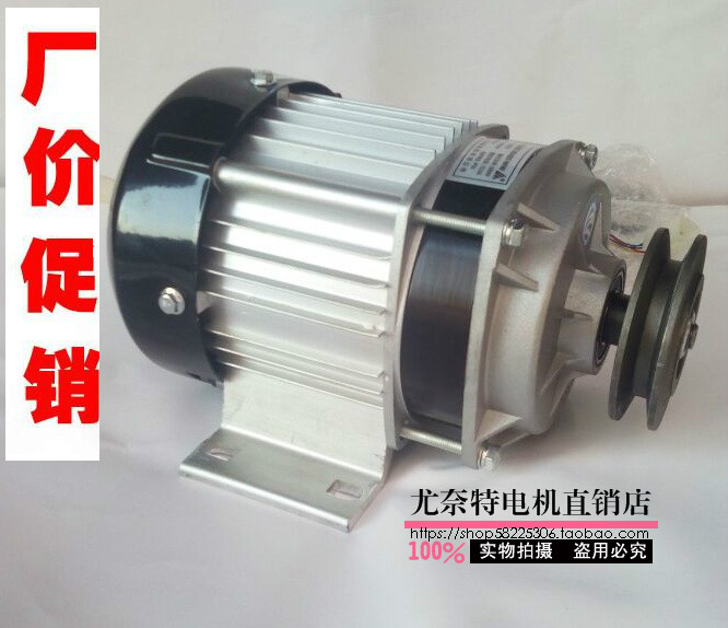 Permanent magnet DC brushless motor BM1418ZXF model Pulley motor