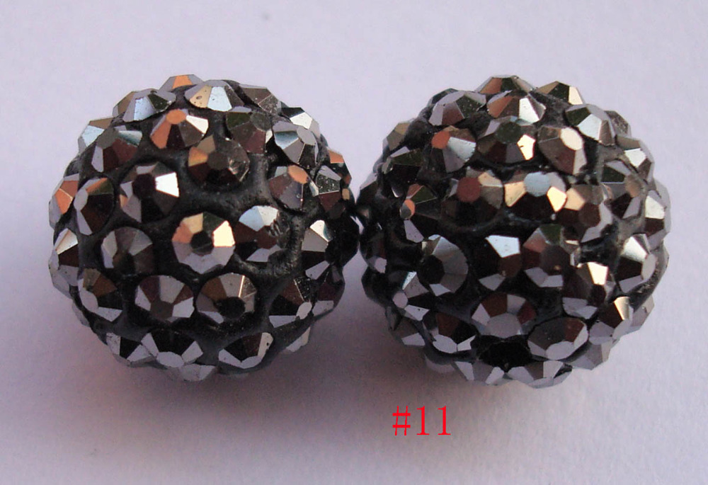 Arts,crafts & Sewing 12mm Polymer Clay With Top Premium Crystal Shamballa Beads For Bracelet And Necklace,30 Piece Pave Disco Ball Loose Charm Beads Apparel Sewing & Fabric