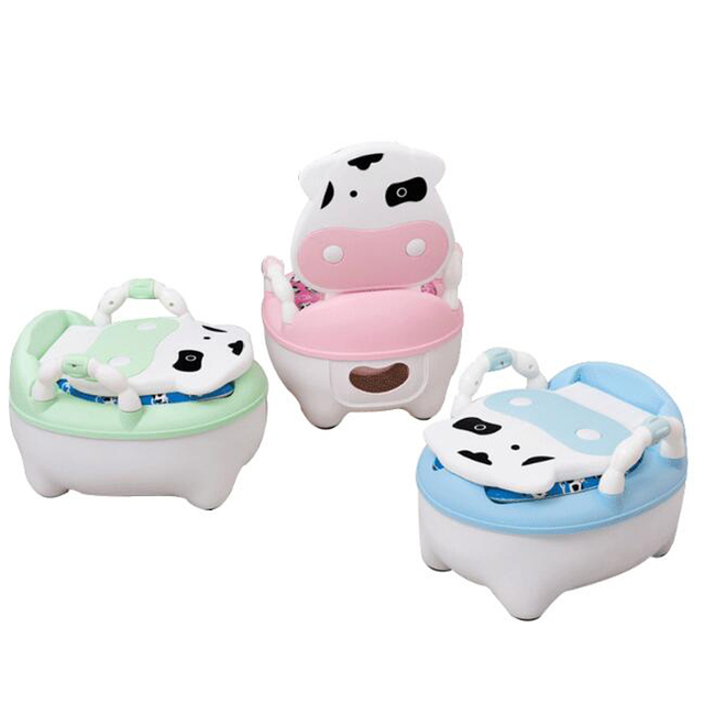 fba8c467770 2018 Baby Potty Toilet Training Seat Baby Potty Portable Baby Toilet Pot  Cartoon Child Pot Kids Potty Chair With Soft Cushion WC