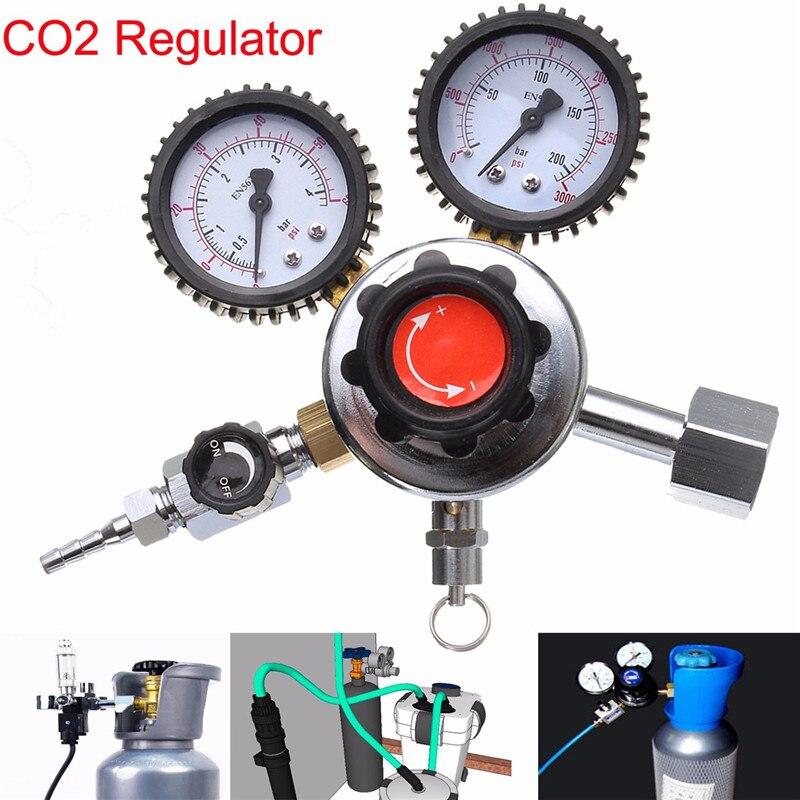 G1/2 Régulateur de CO2 Dioxyde De Carbone Pour Maison Accueil Brasser De La Bière Professionnel Qualité Bar Outils