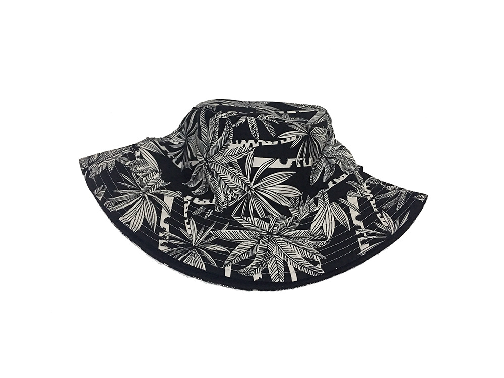 57e29ee02ad MinanSer Women s Coconut Tree Printed Bucket Hats Women Reverse Harajuku  Vintage Bucket Cap Hawii Weed Leaves Bucket -in Bucket Hats from Apparel ...