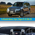 Dashmats-car styling acessórios do carro tampa do painel para Mitsubishi Pajero Shogun Montero v97 v93 2006 2007 2012 2013 2014 2015