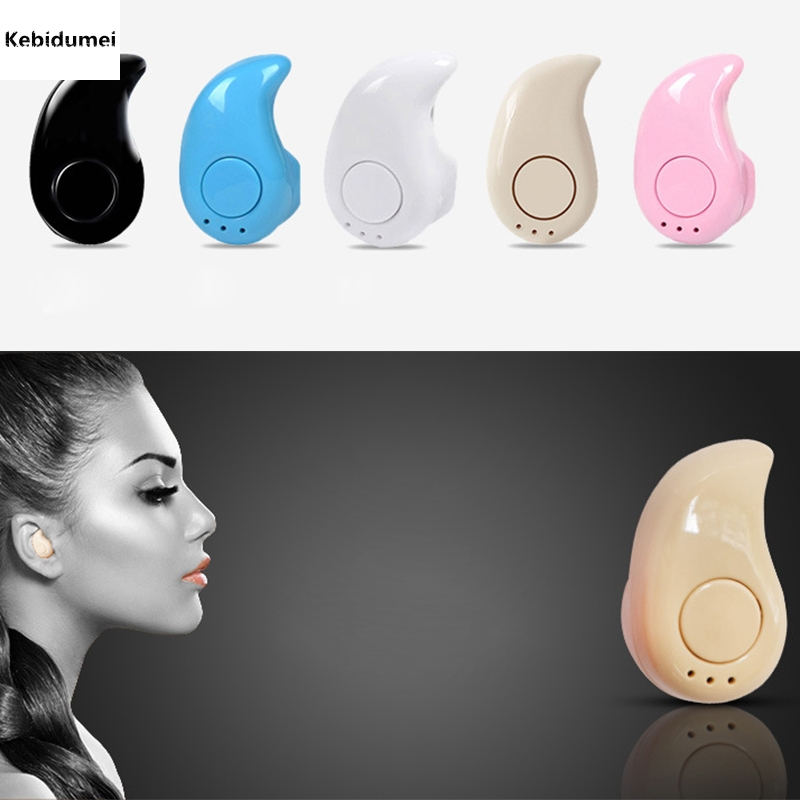 Hot Sport EDR Wireless Headset Snail Earphone Bluetooth V4.0 In Ear Headphone Stereo Music For iPhone For Samsung For PC Laptop