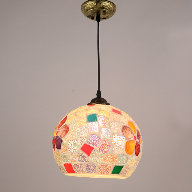 2017 neue Tiffany Pendelleuchten Küche Glas suspension design ...