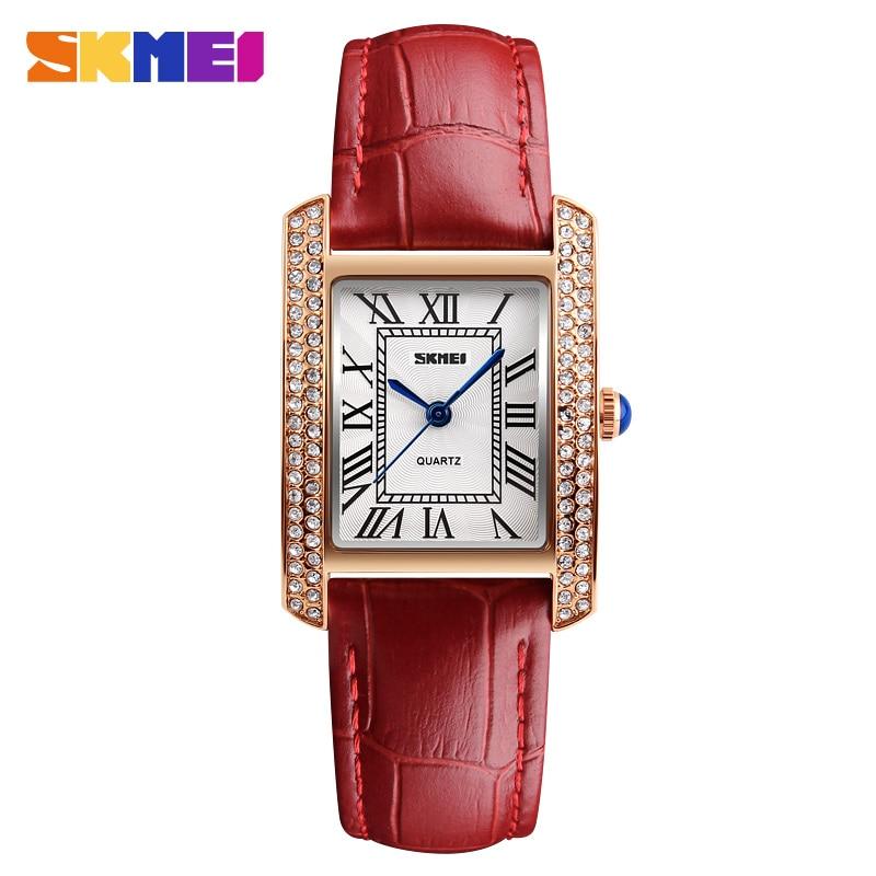 SKMEI New Fashion Simple Style Women Bracelet Watch Casual Quartz Watch Woman Ladies Watches Clock Female Dress Relogio Feminino